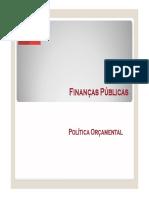 7. Política Orçamental