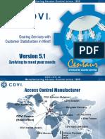 CDVI Centaur 5 1 DVR Visitor.ppt