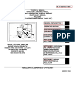 Каталог вилочного погрузчика ТСМ  3 тонн полный 600 стр