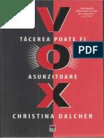 Christina Dalcher - Tacerea poate fi asurzitoare.docx