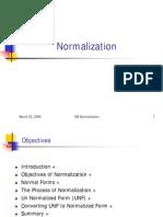 DBMS_Normalization