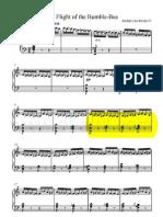 El vuelo del abejorro guitarra pdf
