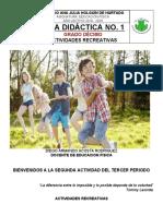 2. Guía Didactica No. 1 - Indicaciones y Recomendaciones