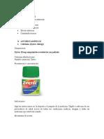 Medicamentos Composicion