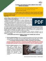 9 semana 1er- EXPLICAMOS LA INFLUENCIA DEL MEDIO AMBIENTE PARA TOMAR MEDIDAS SALUDABLES