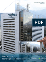 Telefónica Venezuela Informe de Gestión 2012-2013
