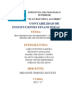 PROVISIONES POR CALIFICACIÓN DEL RIESGO CREDITICIO