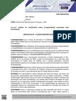 DESPACHO PROC 2020 10821 000044 - INSCCTO - JUSTIFICATIVA GLOSA