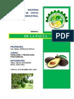 MANUAL DE LA PALTA