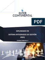 UNIDAD DIDÁCTICA 1 SISTEMAS INTEGRADOS DE GESTIÓN HSEQ