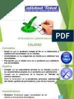 PRESENTACION CALIDAD TOTAL -  DOCENTE
