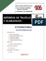 CACICAZGOS DE TRUJILLO Y HUAMACHUCO - PERÚ