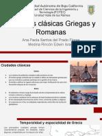 Ciudades clásicas griegas y romanas