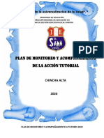 PLAN MONITOREO TUTORES 2020