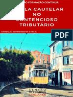 TUTELA CAUTELAR NO CONTENCIOSO TRIBUTÁRI