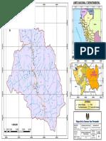 Mapa de la cuenca San Fernando