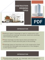 Lecture 10 - Technical Drawign II - CONSTRUCTION Drawing Types.pptx