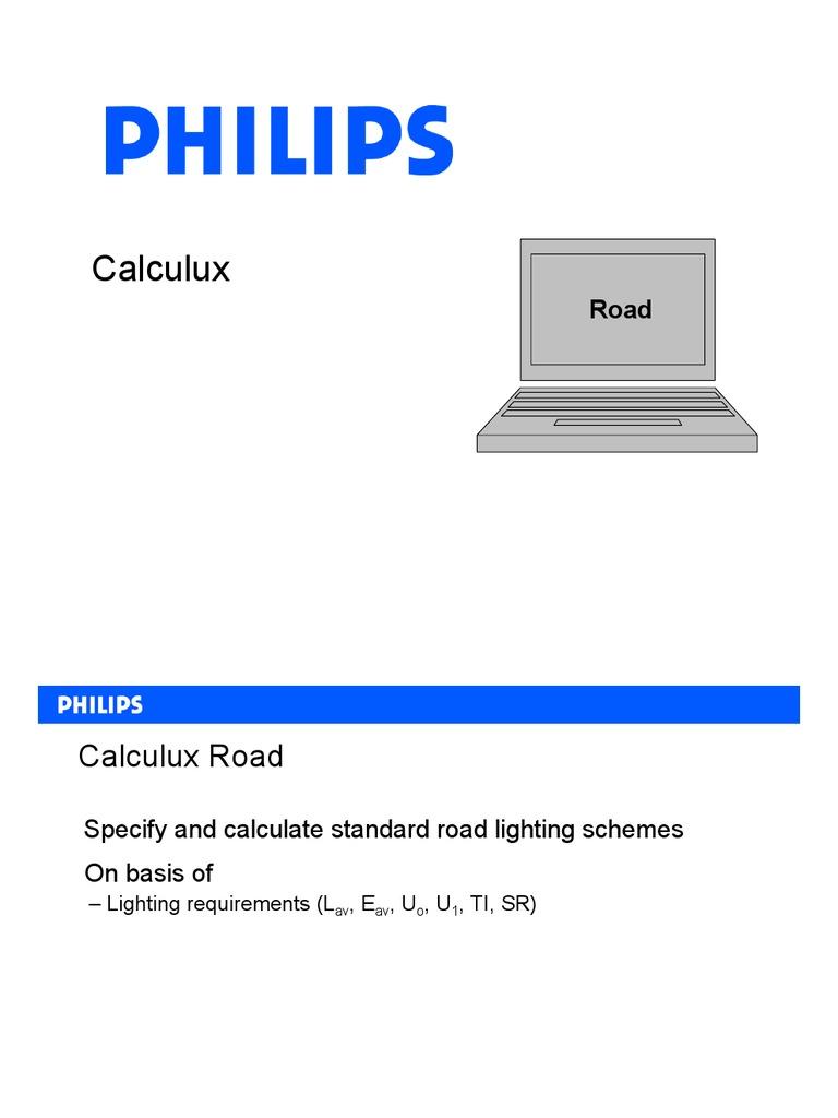 Calculux road optics light fandeluxe Choice Image