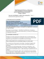 Guia de actividades y Rúbrica de evaluación - Unidad 1- Paso 1 - Reconocimiento General del curso (1)