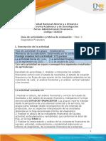 Guia de actividades y Rúbrica de evaluación - Unidad 1 - Paso 2 - Diagnostico Financiero (1)