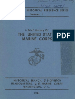 A Brief History of the United States Marine Corps