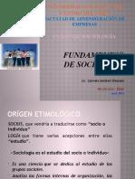 FUNDAMENTOS  DE SOCIOLOGÍA[1]
