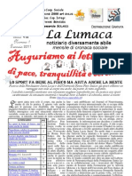 1) La Lumaca Gennaio 2011