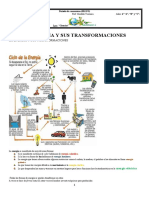 ENERGIA. TRANSFORMACIONES