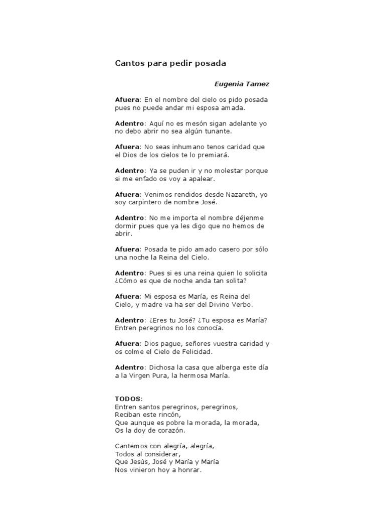 Cantos de posada pdf to word