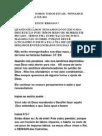 A APLICAÇÃO DA FÉ PARA RECEBER O PERDÃO DE DEUS