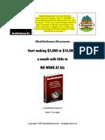 BlackHatSystem (Affiliate Money) - Mark T. Levoigne