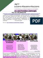 Klausens und Feridun Zaimoglu ( LIVE-Gedichte Stand 5.2.2011)
