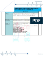 1era Guia de  manejo de pacientes con diagnostico de Coronavirus COVID - 19. Actualizado.pdf