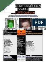 Klausens und Jürgen Domian - LIVE-Gedichte - Stand 5.2.2011