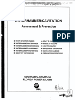 cavitation and water hammer.pdf