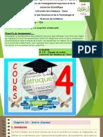 Cours N°4 - Ethique et Deontologie - Master 1 - Structure- VOA.pdf