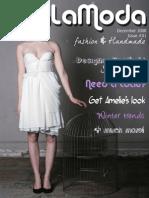 VivaLaModa Issue #1 - December 2008