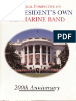 Historical Persepctive on the President's Own U.S. Marine Band