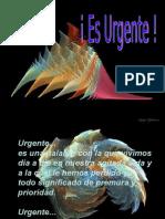 ES URGENTE
