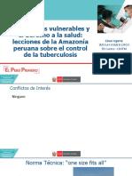 11. Poblaciones vulnerables y el derecho a la salud - Dr Cesar Ugarte