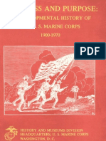 Progress and Purpose a Developmental History of the US Marine Corps
