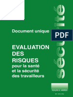 Document unique evaluation des risques