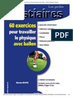 60 exercices pour travailler le physique avec ballon - Football - Magazine Vestiaires.pdf