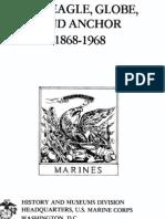 The Eagle, Globe, And Anchor 1868-1968