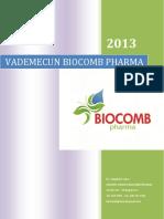 VADEMECUN BIOCOMB PHARMA  2013