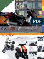 Peugeot motos accessoris