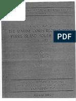 The Marine Corps Recruit Depot Parris Island