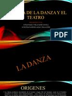 HISTORIA DE LA DANZA Y DEL TEATRO