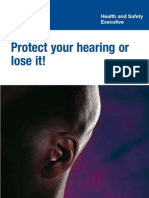 Protect your hearing or lose it!