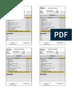 Check list - Maquinaria - Diario - Tractores (2)